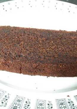Bizcocho vegano de chocolate sin gluten