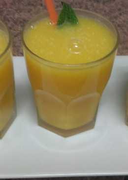 Batido de mango y naranja