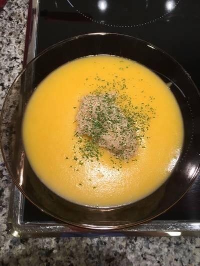 Puré de verduras con quinoa