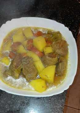 Estofado de cordero 47 recetas caseras cookpad for Corzo con patatas