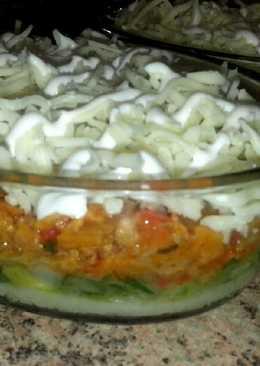Pastel de verduras con soja texturizada