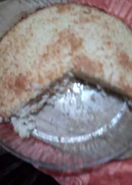 Soufflé de arroz relleno de jamón y queso