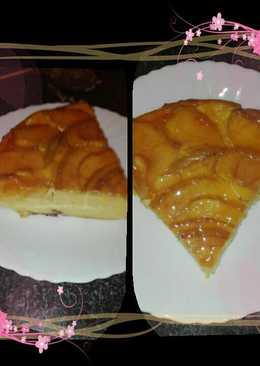 Tarta de manzana y yogur natural griego en la olla GM g
