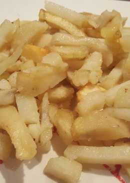 Patatas fritas a la sal