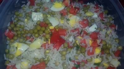 Ensalada de arroz 😊