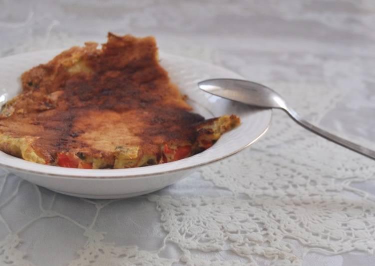 Tortilla diet tica baja en calor as y con un delicioso - Tortilla francesa calorias ...