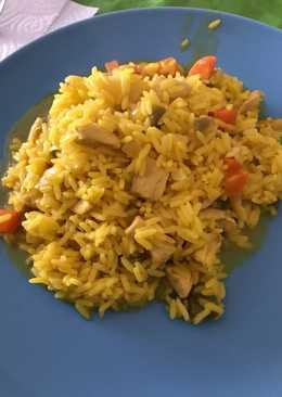 Arroz con pollo (súper fácil)