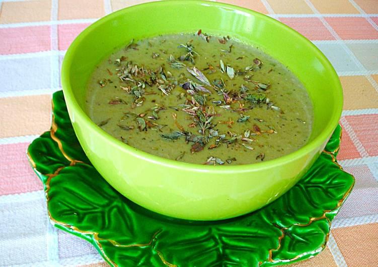Crema de habas frescas receta de cocinar con jorgette for Cocinar guisantes frescos