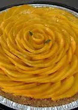 Pie de Mango Fácil y Con Ingredientes Fáciles de Conseguir#Recetadeldia