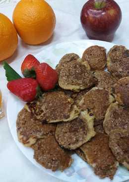 Tortitas de salvado de avena para el desayuno