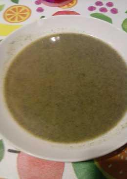 Crema o puré de ortigas (Receta de posguerra)