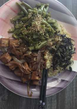 Tofu al estilo árabe con groumd sumac