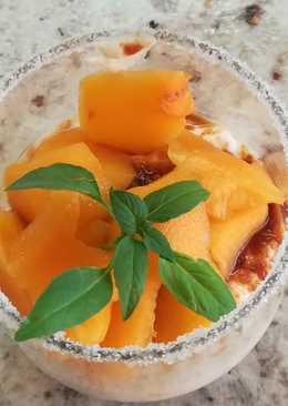 Tarta light de queso y frutas