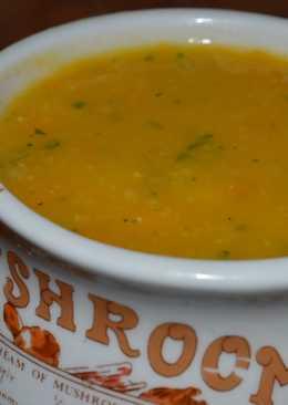 Sopa de zapallo y choclo crema