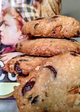 Cookies con chocolate y avellanas🍪