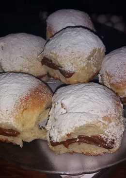 Pan de leche rellenos con dulce de leche ❤