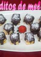Bocaditos de melocotón y chocolate (receta fácil)