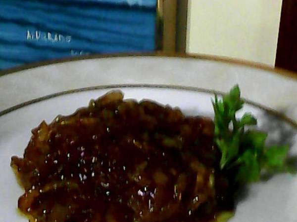 Cebollas acarameladas