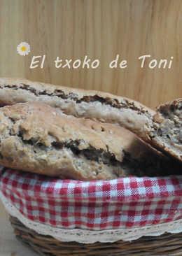 Pan integral con pipas fácil