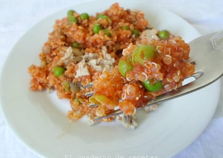 Quinoa con verduras receta de nuria eme cookpad - Cocinar quinoa con verduras ...