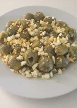 Alcachofas con puerros