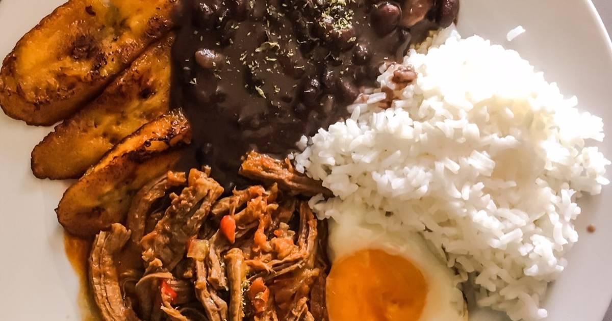 Pabell n criollo receta de malopezve cookpad for Cocinar judias negras