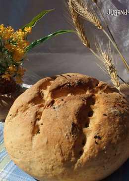 Pan exprés con semillas y aroma de ajo - Manual y Thermomix