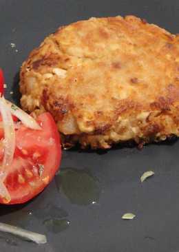 Hamburguesa de tofu y quinoa (Video)