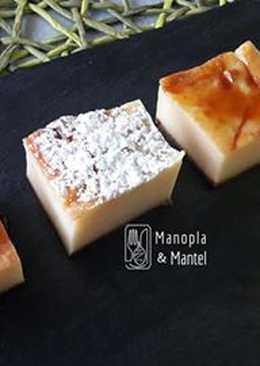Bocaditos de queso y nata, sin lactosa, en GME, F y G y tradicional