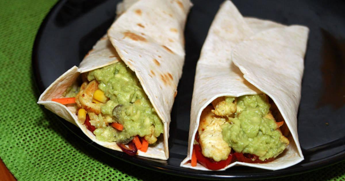 como hacer burritos mexicanos caseros On como preparar burritos