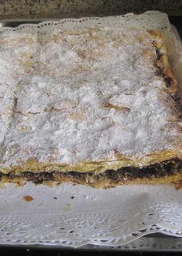 Coca de San Juan de chocolate crujiente al Cointreau