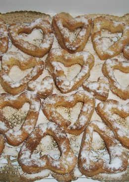 Corazones dulces con toque de mandarina