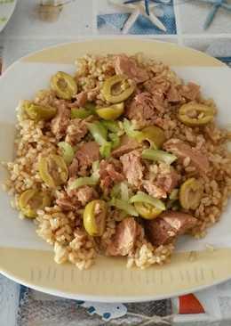 Arroz con verduras y pescado 132 recetas caseras cookpad - Arroz con pescado y verduras ...