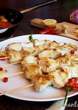Pollo thai al jengibre