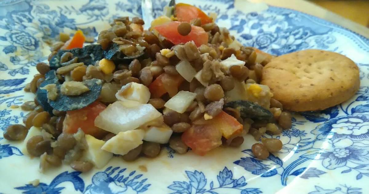 Ensalada de legumbres 616 recetas caseras cookpad - Ensalada de judias pintas ...