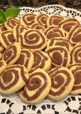 Galletas con espirales de Nesquik