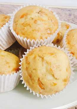 Muffins de calabaza y manzana