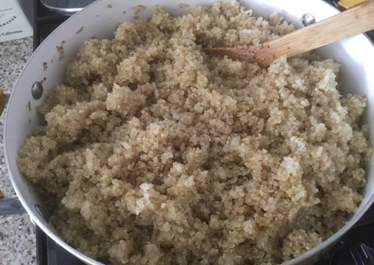 C mo cocinar quinoa receta de patricia quiroga newbery for Cocinar 1 taza de quinoa