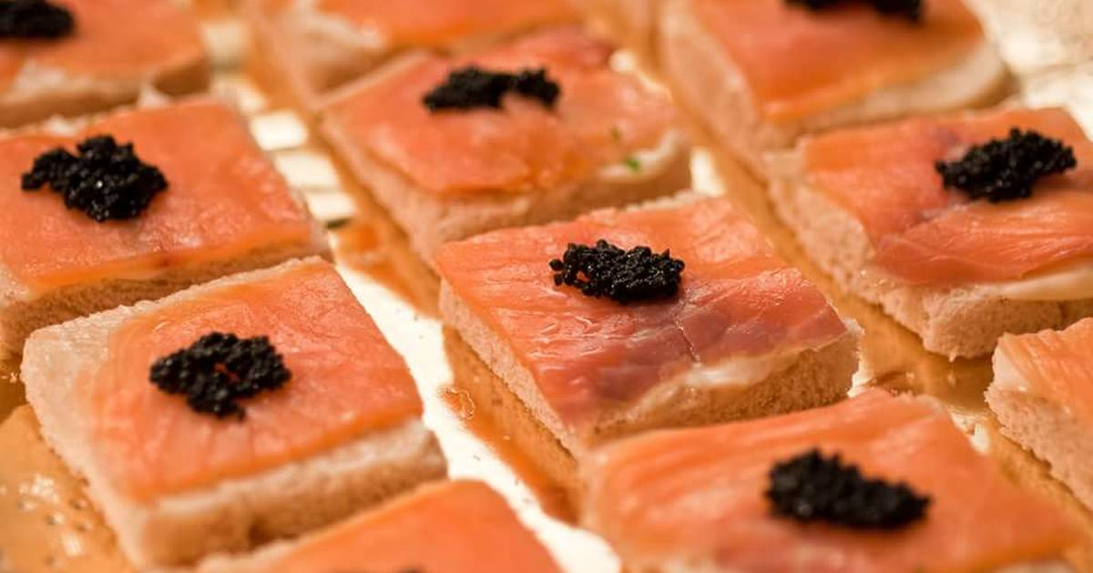 Canapes de salmon 38 recetas caseras cookpad for Canape de salmon ahumado