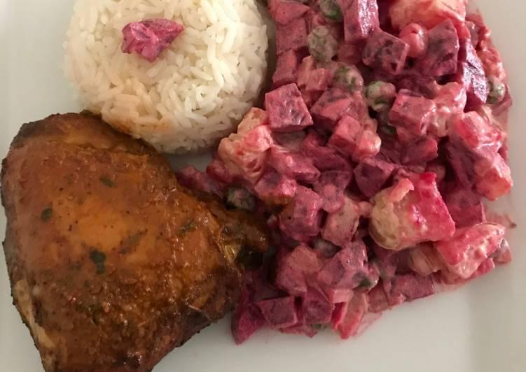 recipe: ensalada rusa con pollo al horno [28]