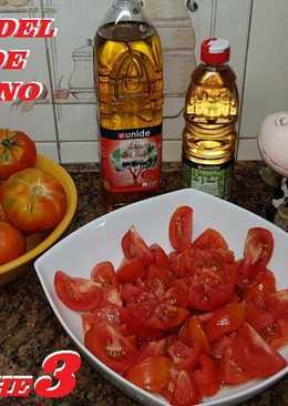 Ensalada de Tomates del huerto de mi hermano pepe