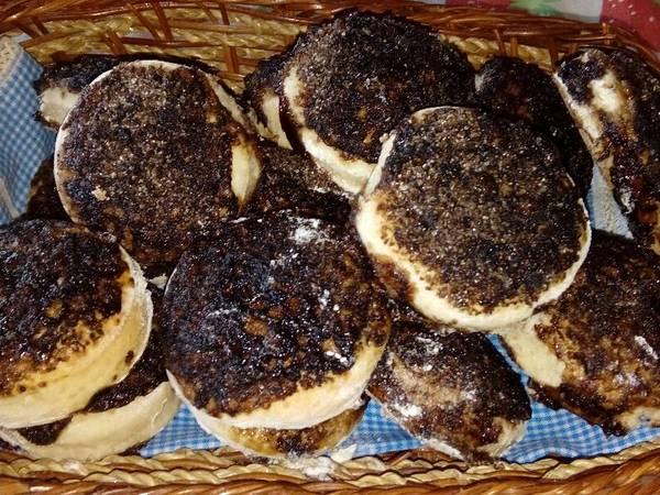 Tortitas negras súper fáciles