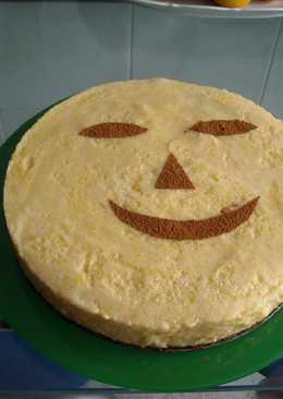 """Tarta de Hallowen. """"Recetas de calabaza"""""""