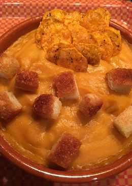 Crema de Otoño con Boniatos y calabaza