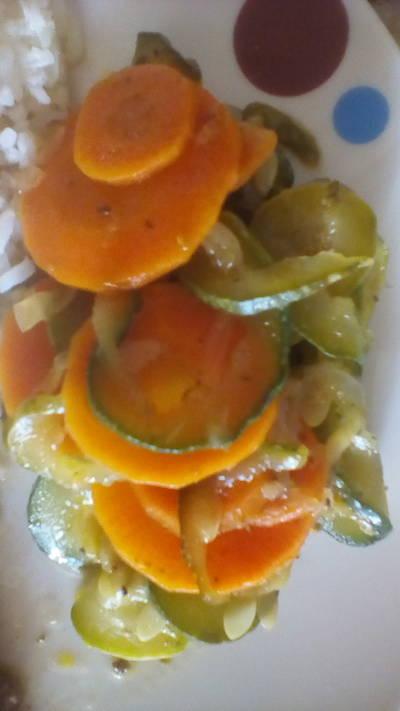 Guiso de Zanahoria y Calabacín