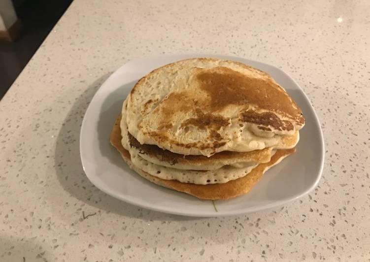 Panqueques americanos o hotcakes, receta de mi abuela