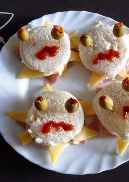 Monstruos de sándwich