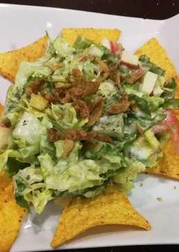 Tartar de ensalada con nachos [Vegetarian]