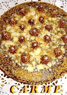 Tarta sin gluten con turrón de chocolate Suchard