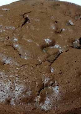 Torta de chocolate y galletas toddy